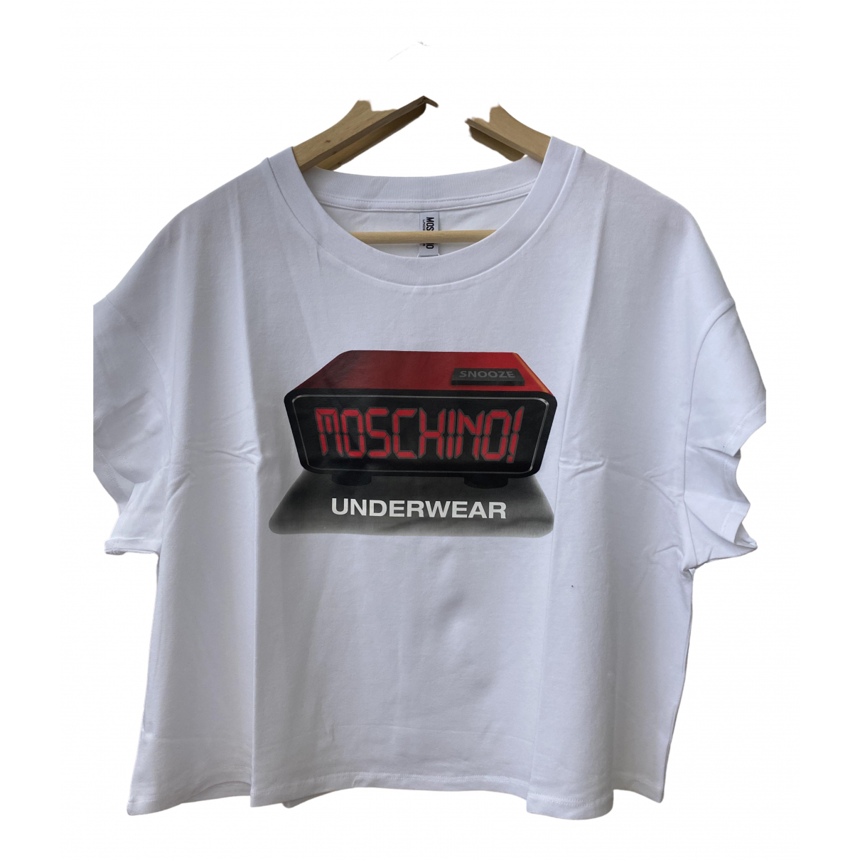 Moschino \N White Cotton  top for Women S International