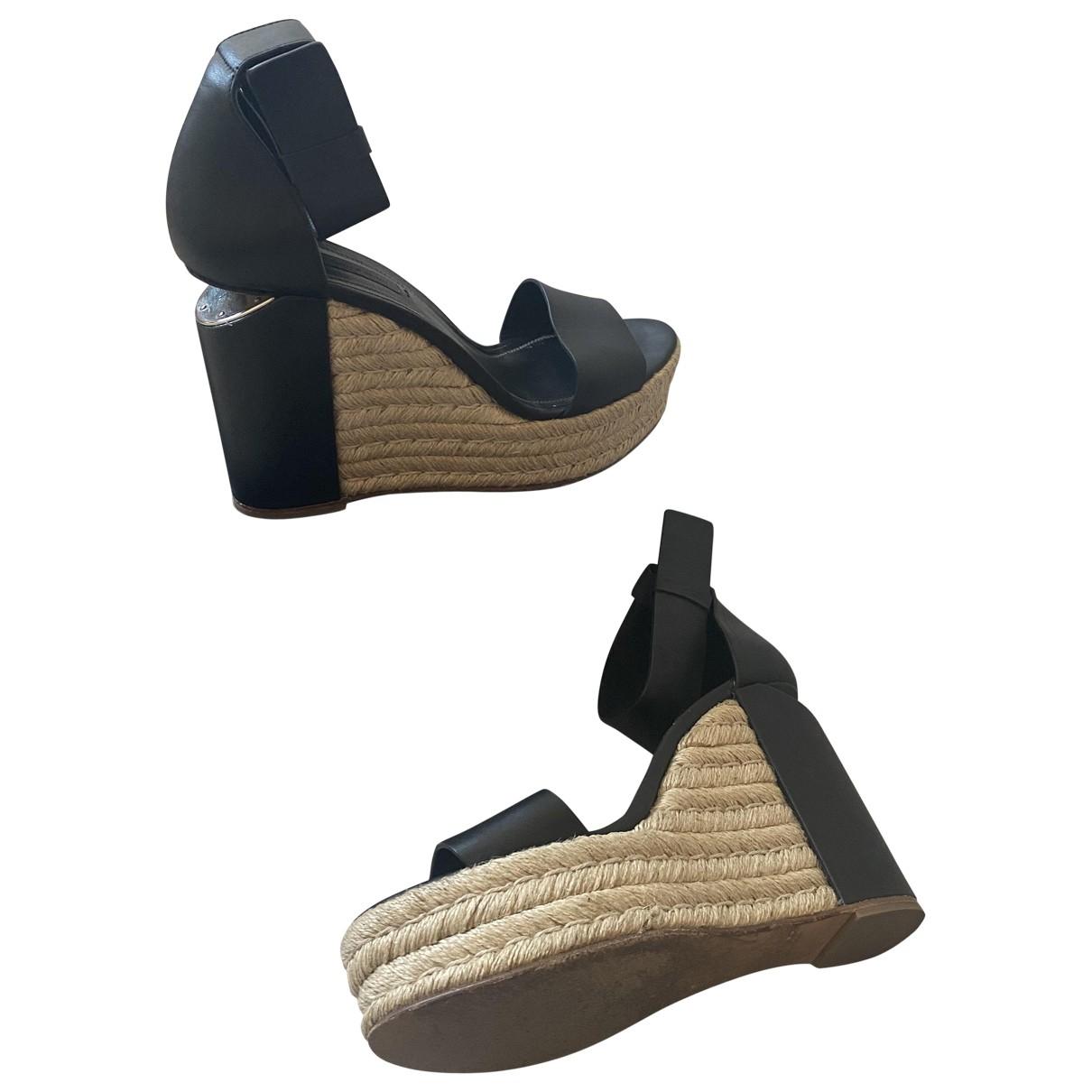 Sandalias de Cuero Alexander Wang