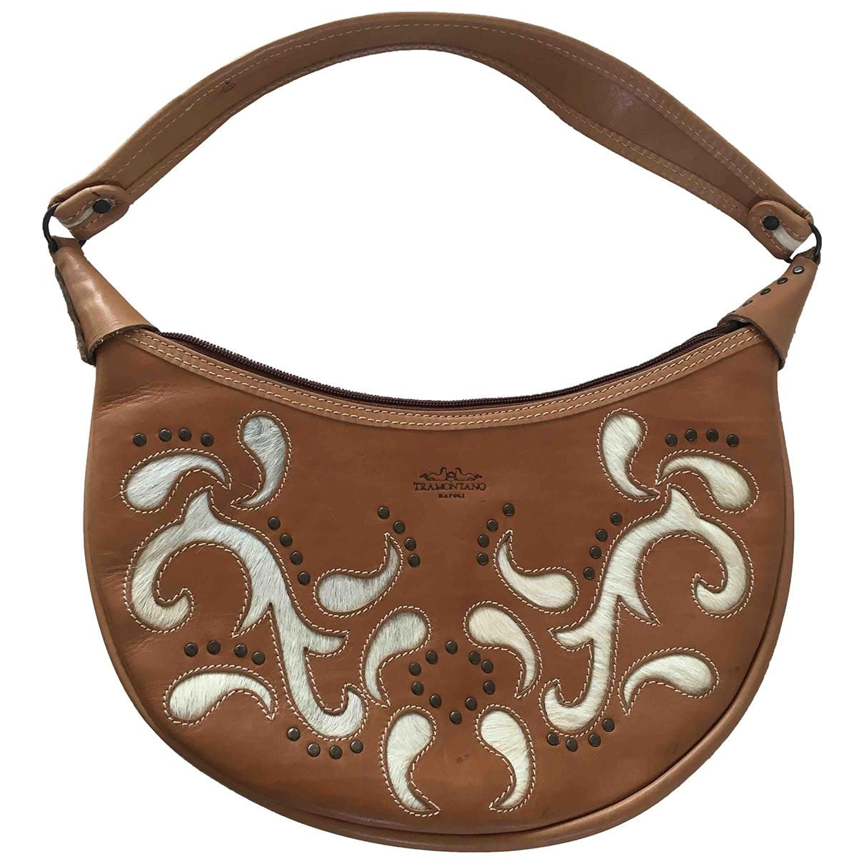 Non Signé / Unsigned \N Camel Pony-style calfskin handbag for Women \N