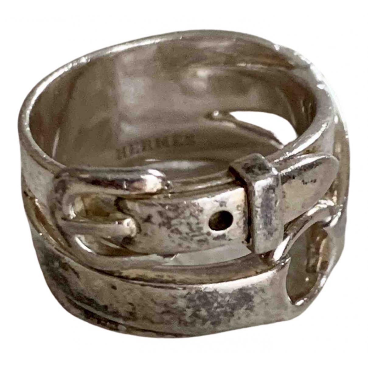 Hermès N Silver Silver ring for Women 50 EU