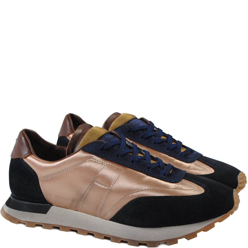 Maison Margiela Extended Sole Runner Trainers Colour: GOLD, Size: 7
