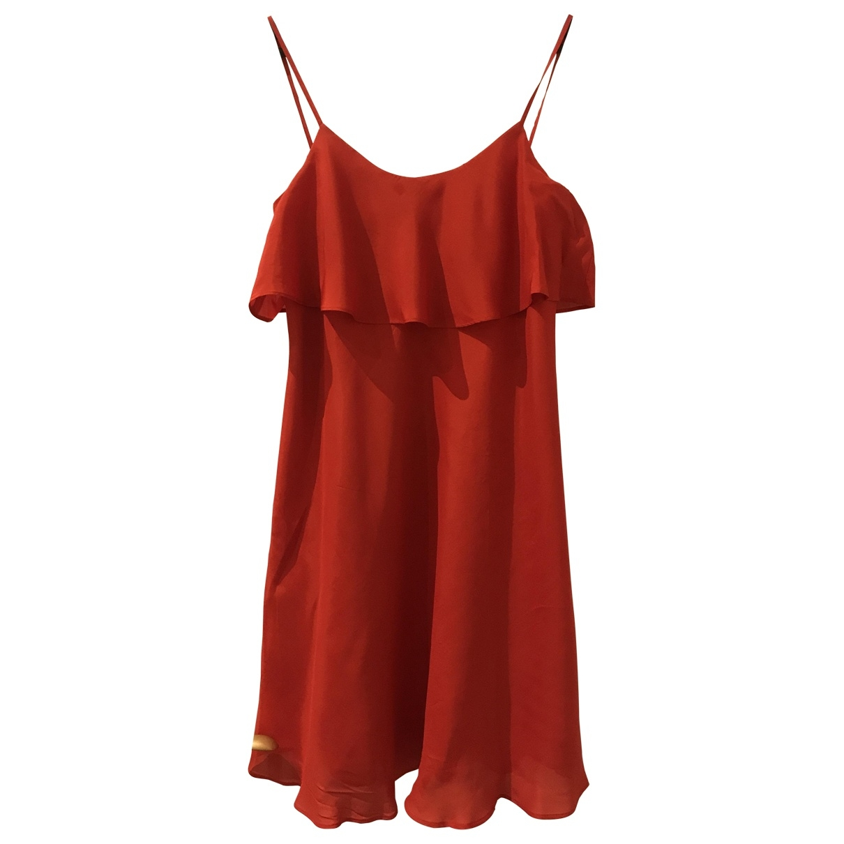 Max & Co \N Red Cotton dress for Women 10 UK