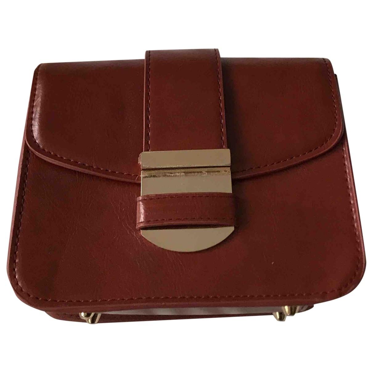 Mango \N Camel Leather handbag for Women \N