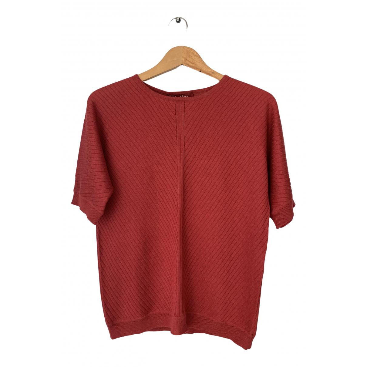 Max Mara Studio N Red Wool  top for Women S International