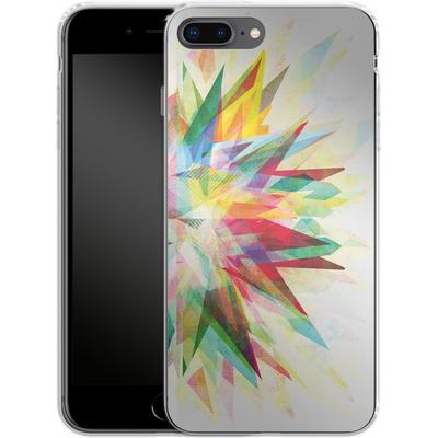 Apple iPhone 8 Plus Silikon Handyhuelle - Colorful 6 von Mareike Bohmer