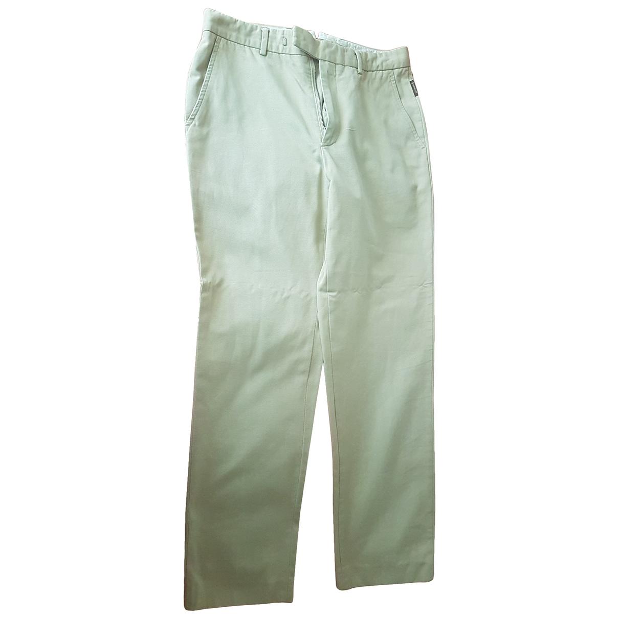 Pantalones en Algodon Beige Moncler