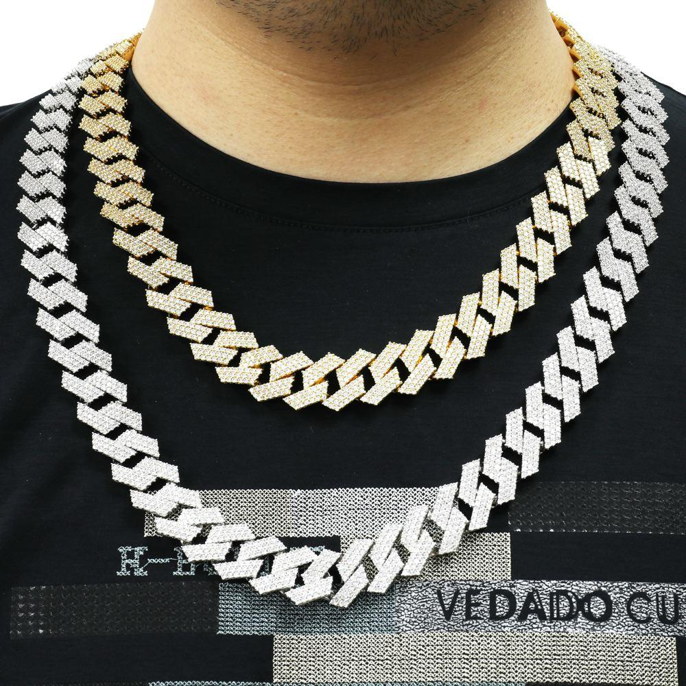 Sharp 14MM Cuban Iced Out Chain