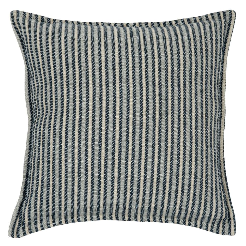Kissenbezug aus Baumwolle mit Streifenmuster 40x40