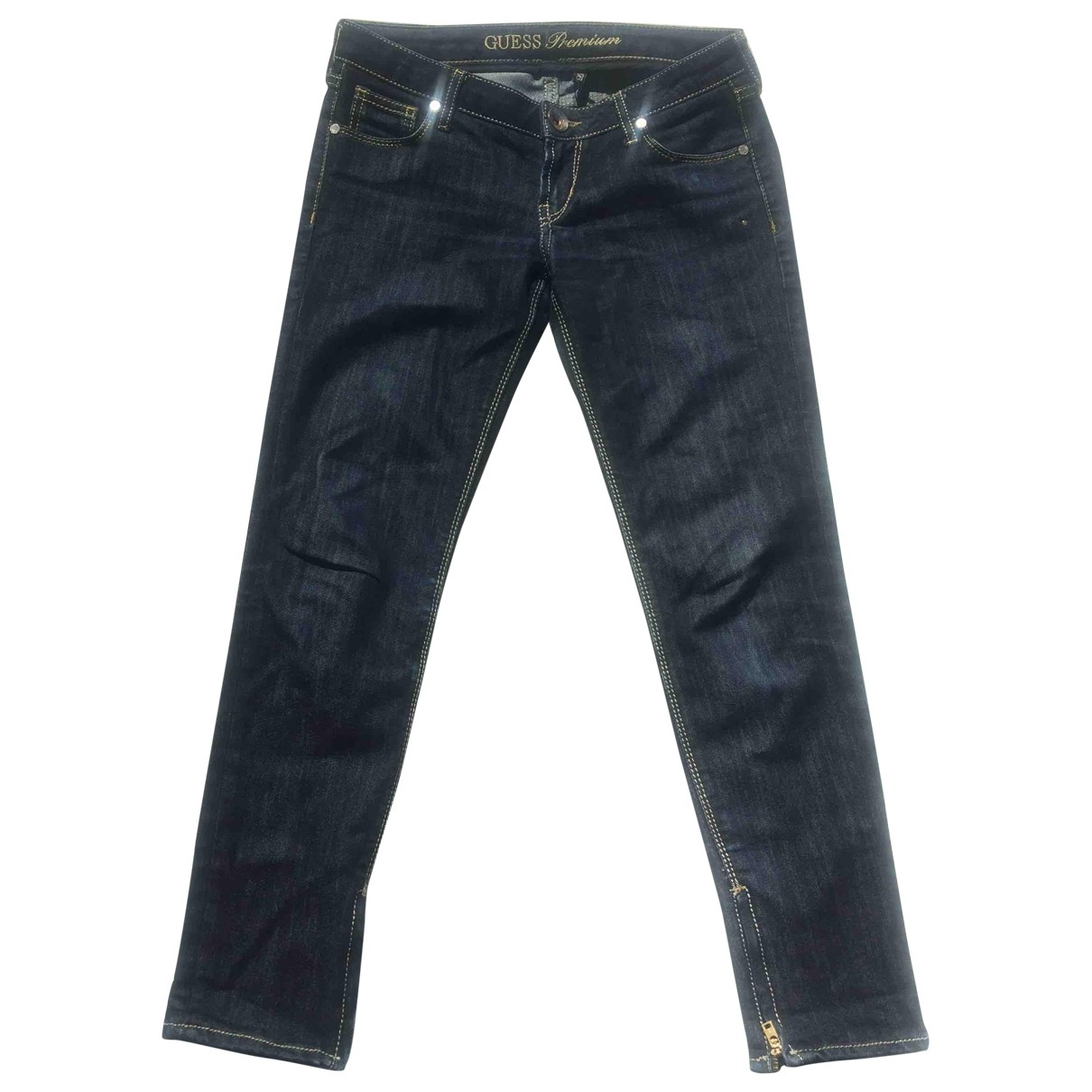Guess \N Blue Denim - Jeans Jeans for Women 27 US