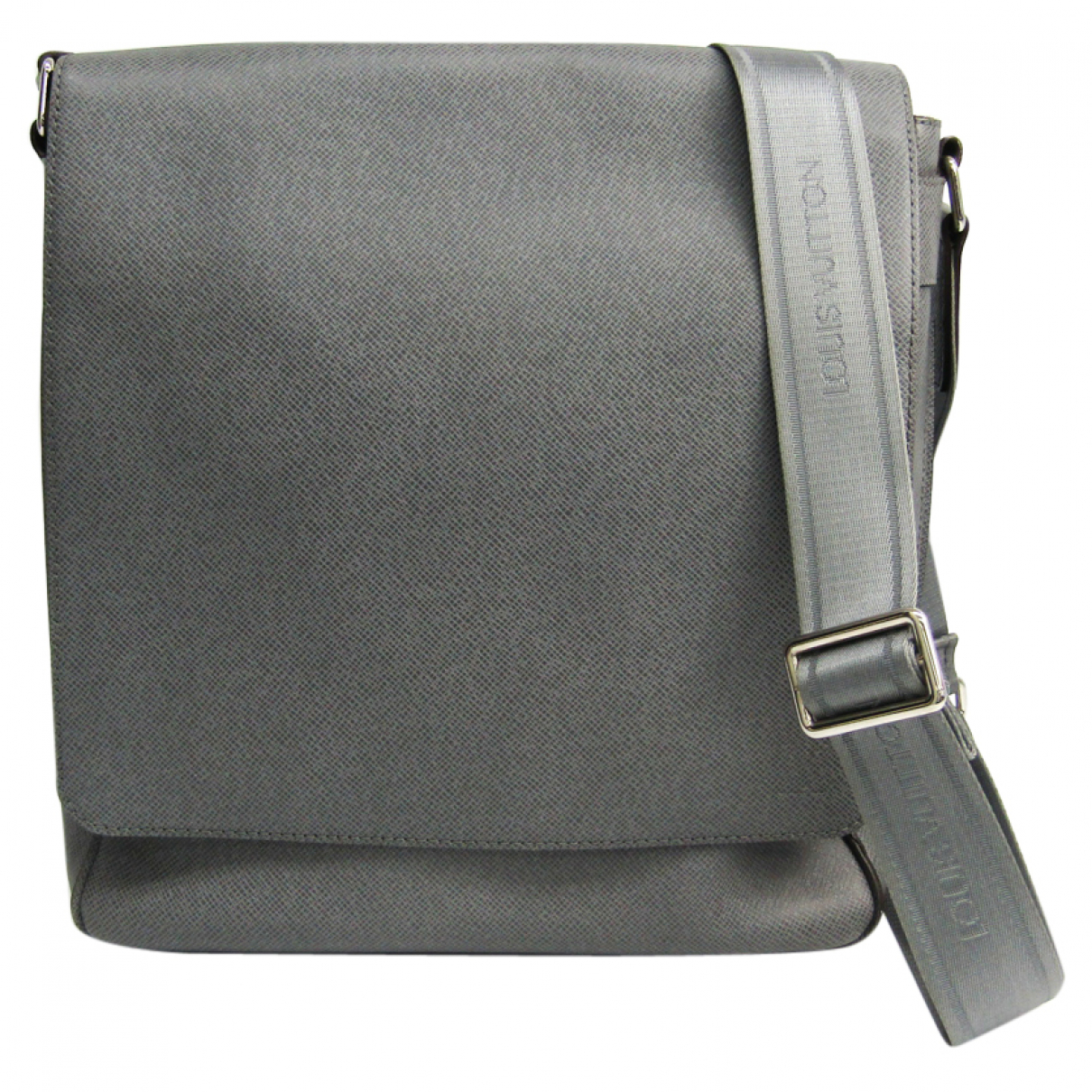 Louis Vuitton Roman Grey Leather bag for Men N