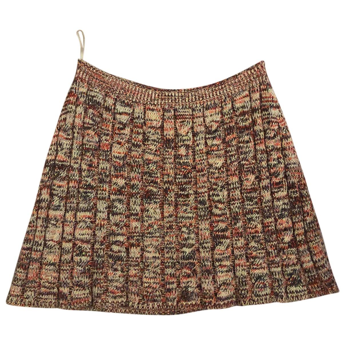 Prada N Multicolour Wool skirt for Women 40 IT