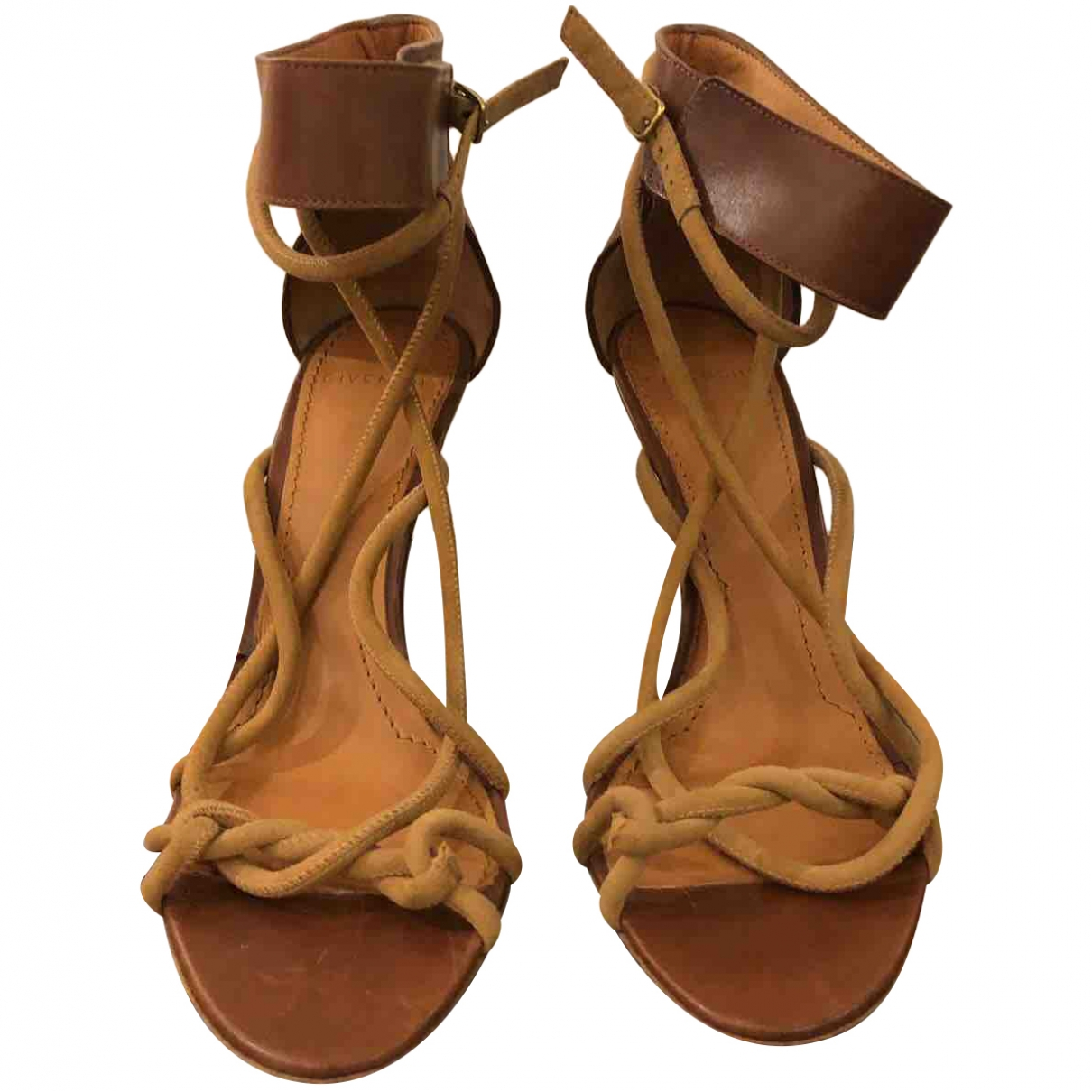 Givenchy \N Camel Leather Sandals for Women 37 EU