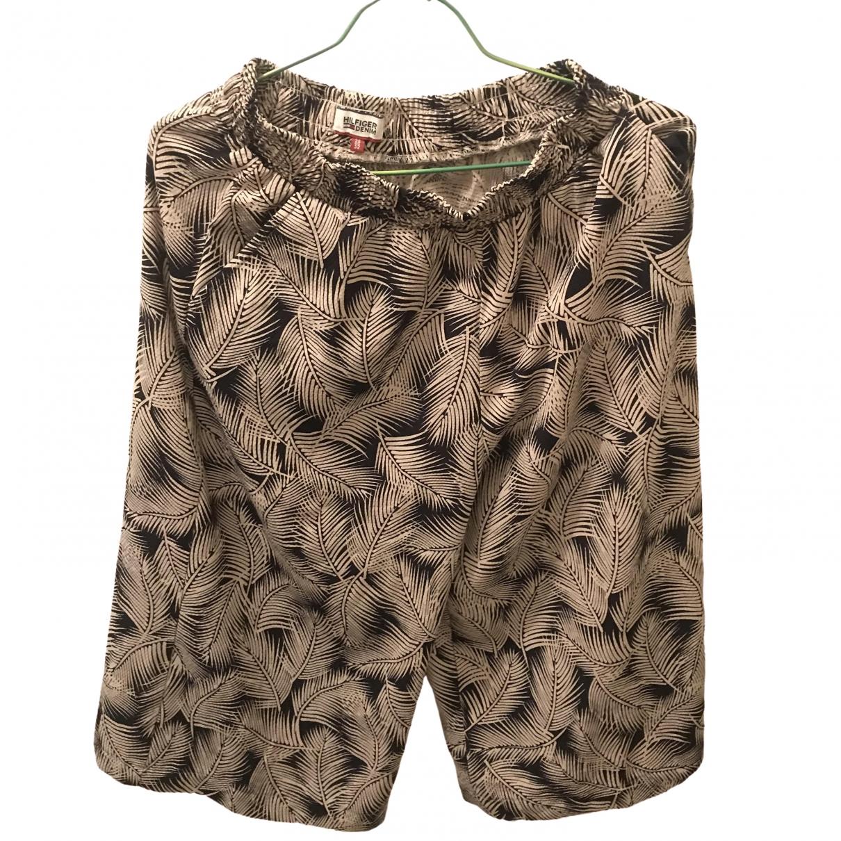 Tommy Hilfiger - Combinaison   pour femme en coton - beige