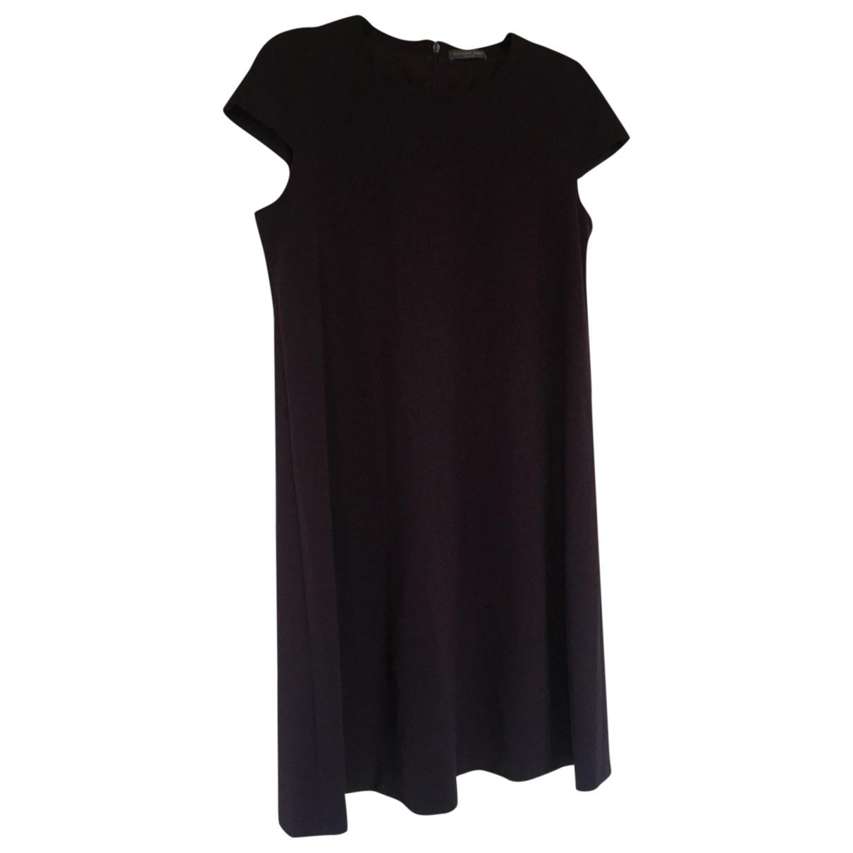 Alexander Mcqueen \N Kleid in  Lila Polyester