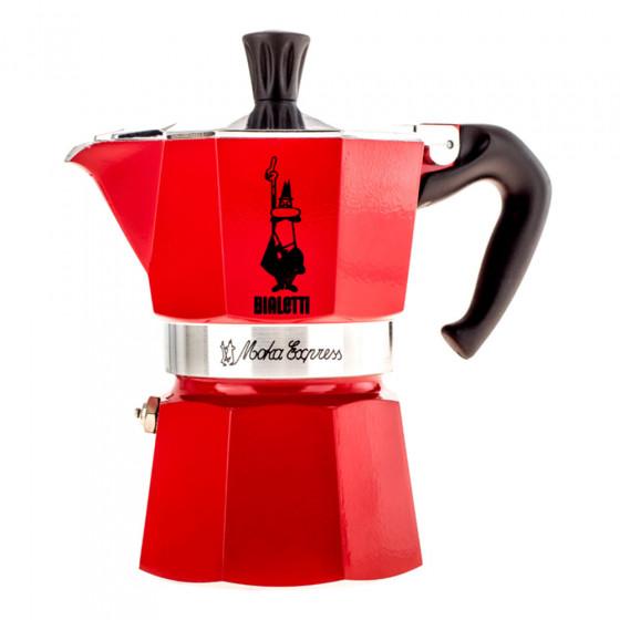 "Kaffeebereiter Bialetti ""Moka Express 3-cup Red"""