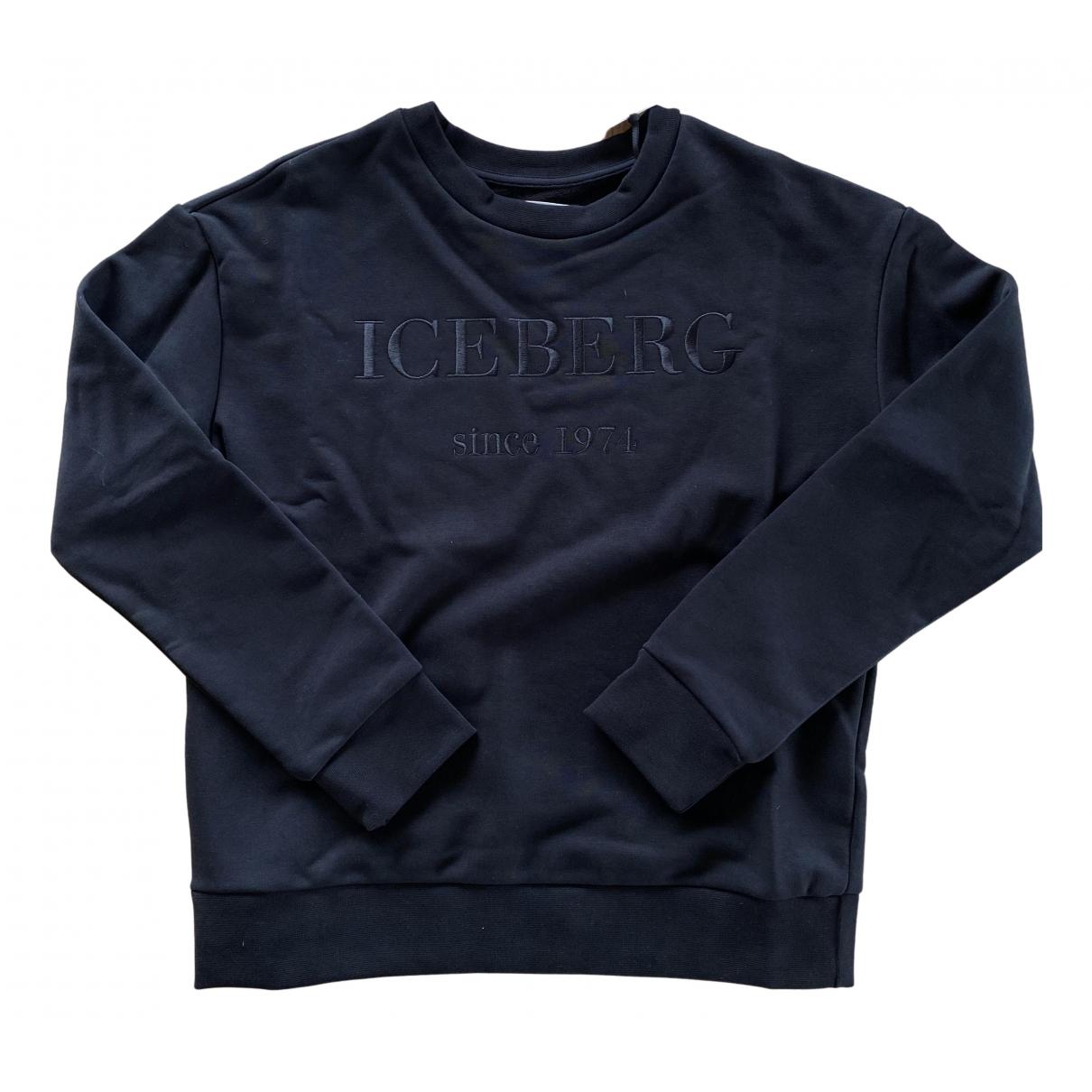 Iceberg \N Black Cotton Knitwear for Women 40 IT