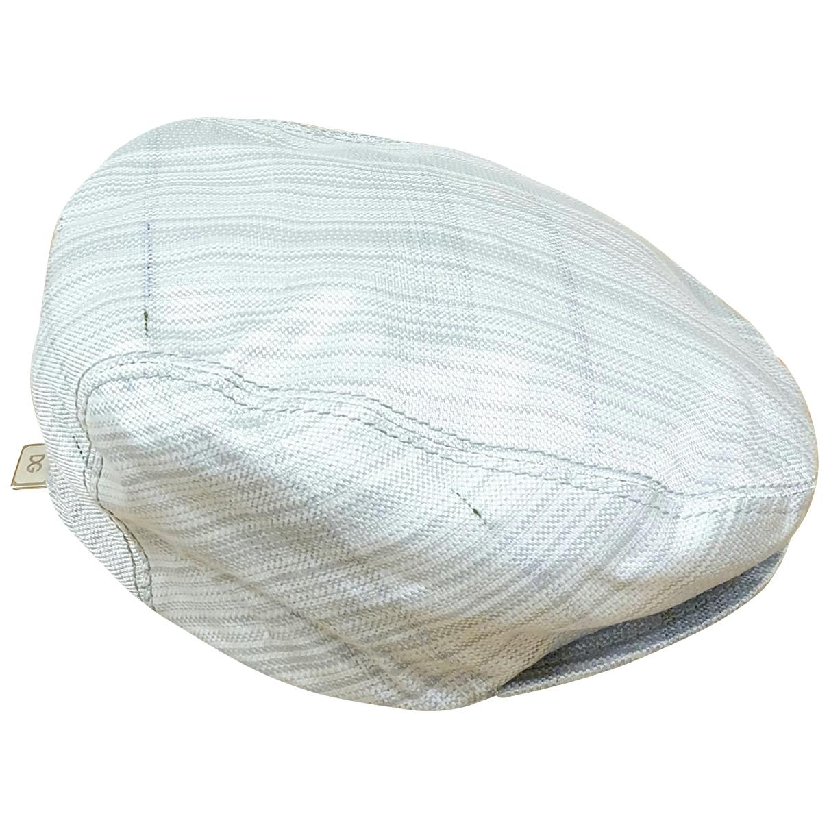 Dolce & Gabbana - Chapeau   pour femme en coton - gris
