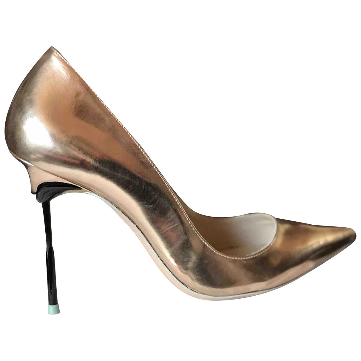 Sophia Webster \N Pumps in  Gold Leder