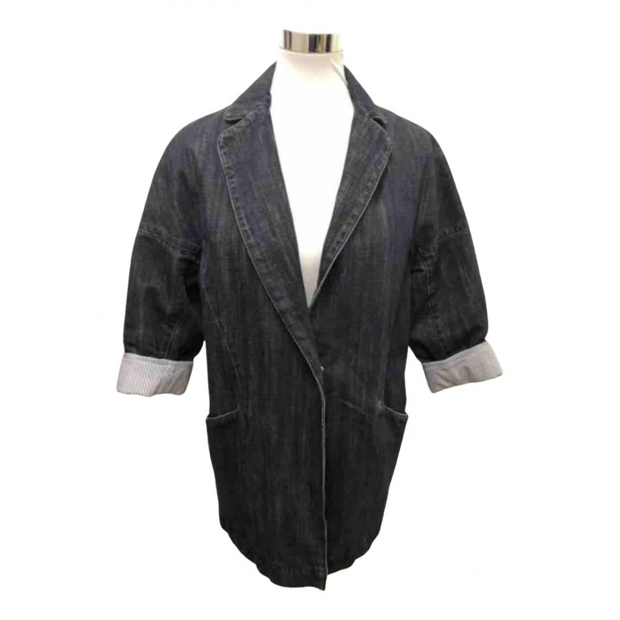 Comptoir Des Cotonniers - Veste   pour femme en denim - bleu