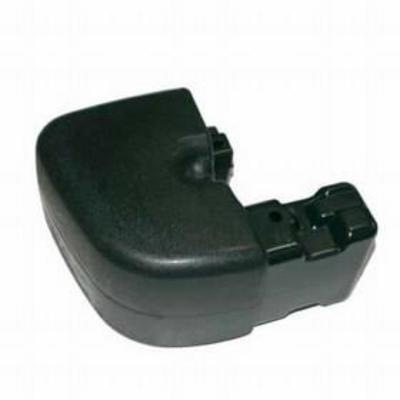 Omix-ADA Rear Bumper Extension (Black) - 12031.10