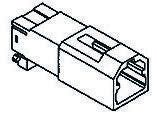 TE Connectivity , MULTILOCK 040 Female Connector Housing, 2.5mm Pitch, 2 Way, 1 Row (10)