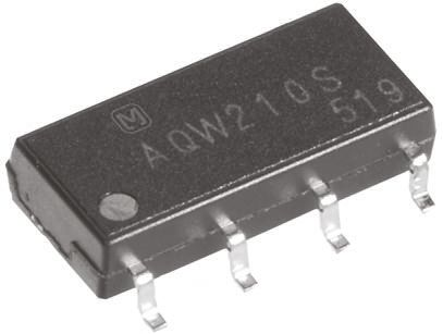Panasonic 80 mA DPNO Solid State Relay, PCB Mount, MOSFET, 400 V Maximum Load