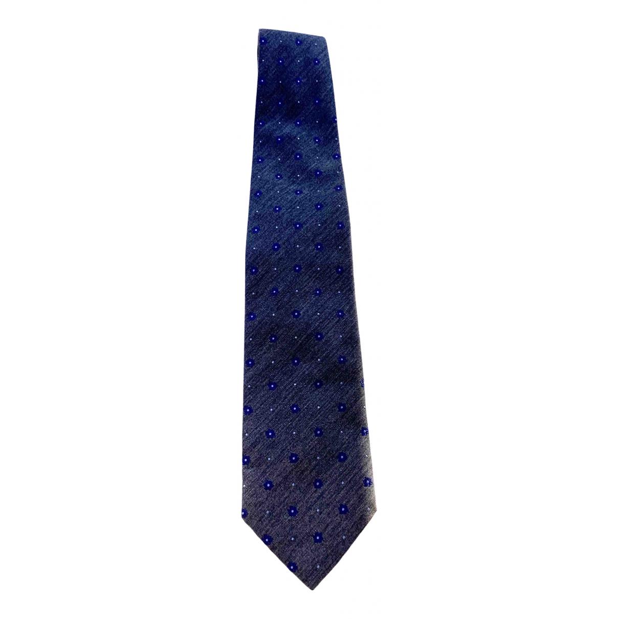Altea - Cravates   pour homme en soie - gris