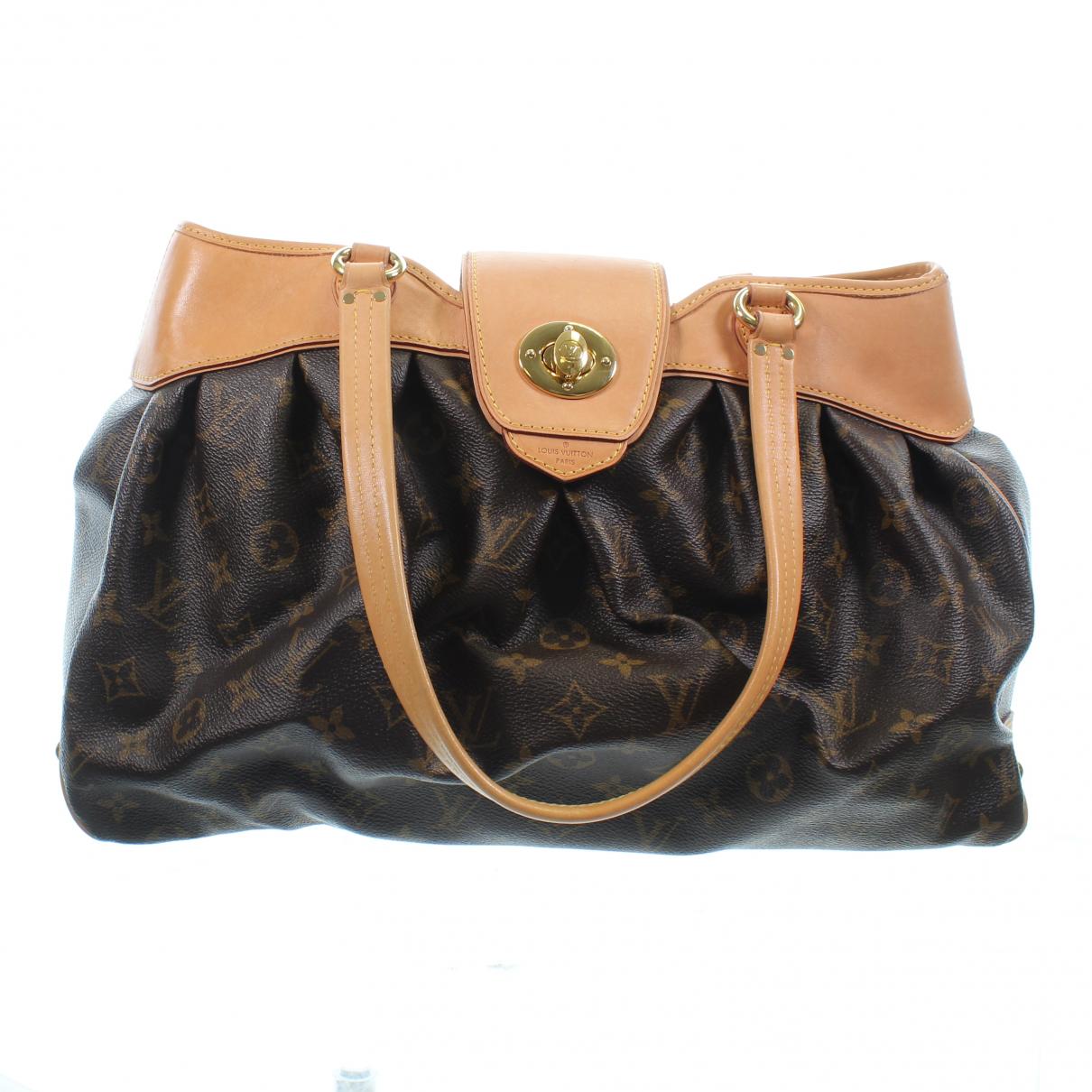 Louis Vuitton \N Handtasche in  Orange Leder