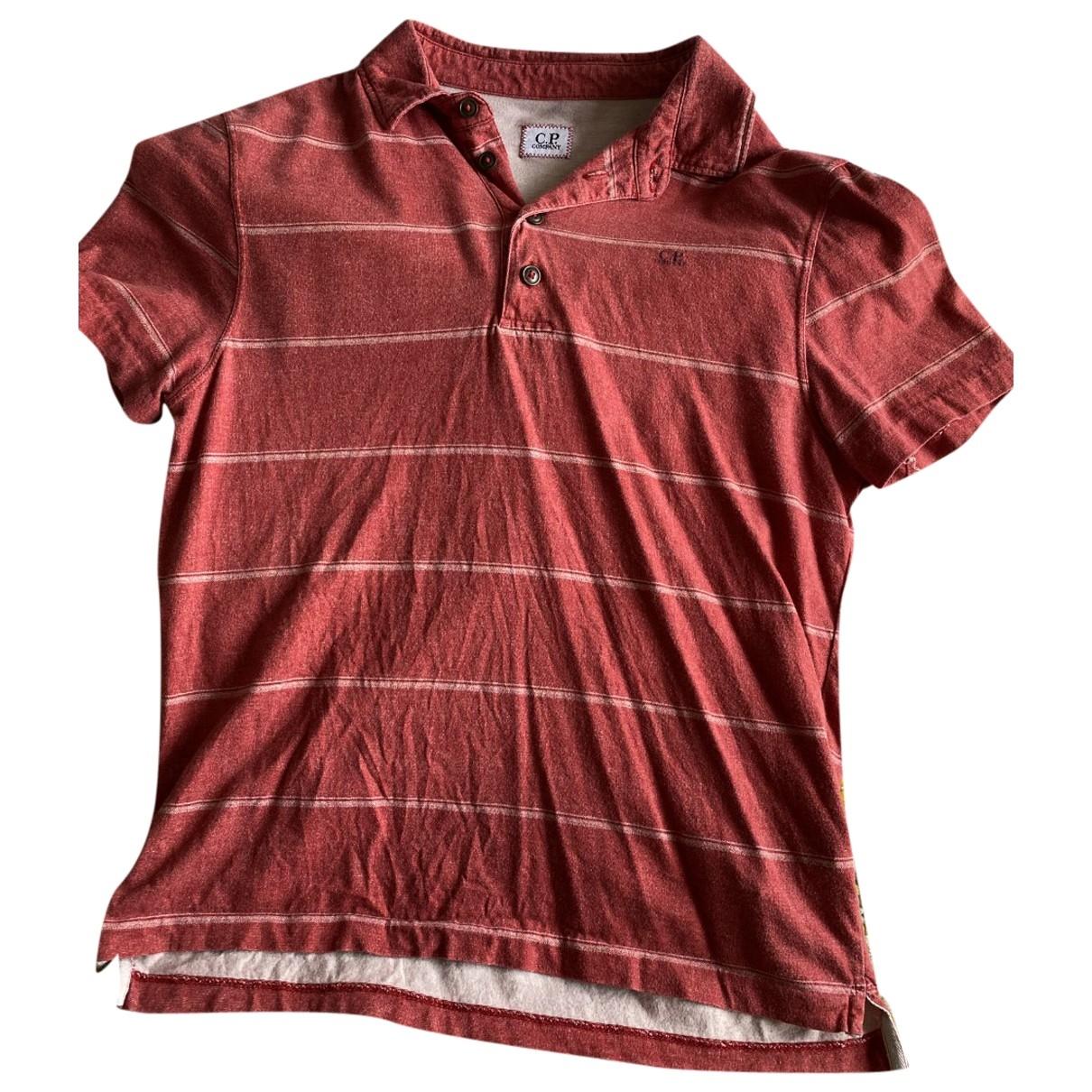 Cp Company - Polos   pour homme en coton - rouge