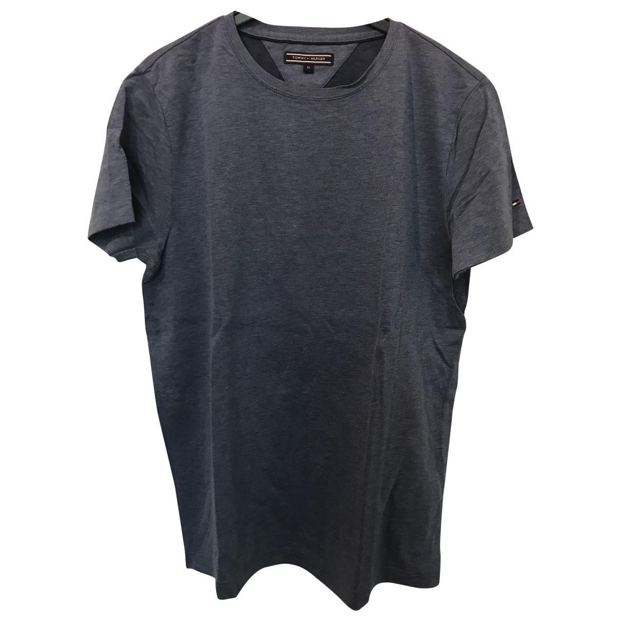 Tommy Hilfiger - Tee shirts   pour homme en coton - bleu