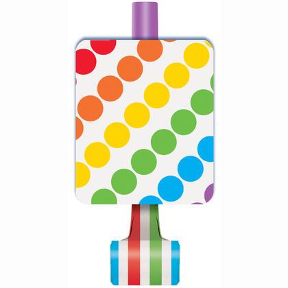 Rainbow Birthday Blowouts, 8ct Pour la fête d'anniversaire