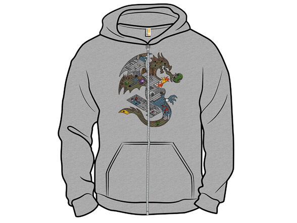 Dungeons In Dragons Long Sleeve Tee