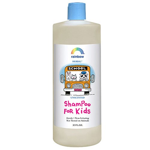 Shampoo For Kids Unscented 32 OZ by Rainbow Research