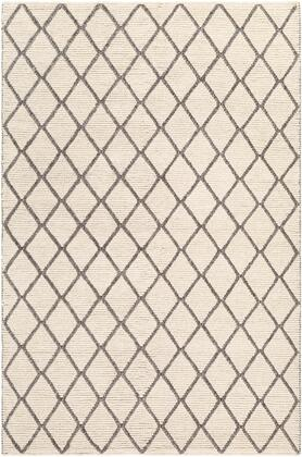 Whistler WSR-2304 2' x 3' Rectangle Modern Rugs in Charcoal