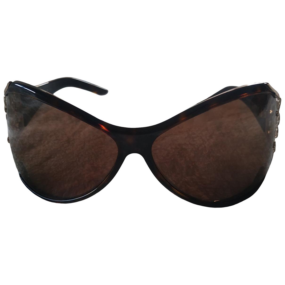 Yves Saint Laurent \N Sonnenbrillen in  Braun Metall