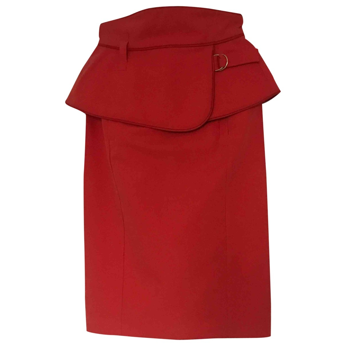 Kenzo \N Rocke in  Rot Baumwolle