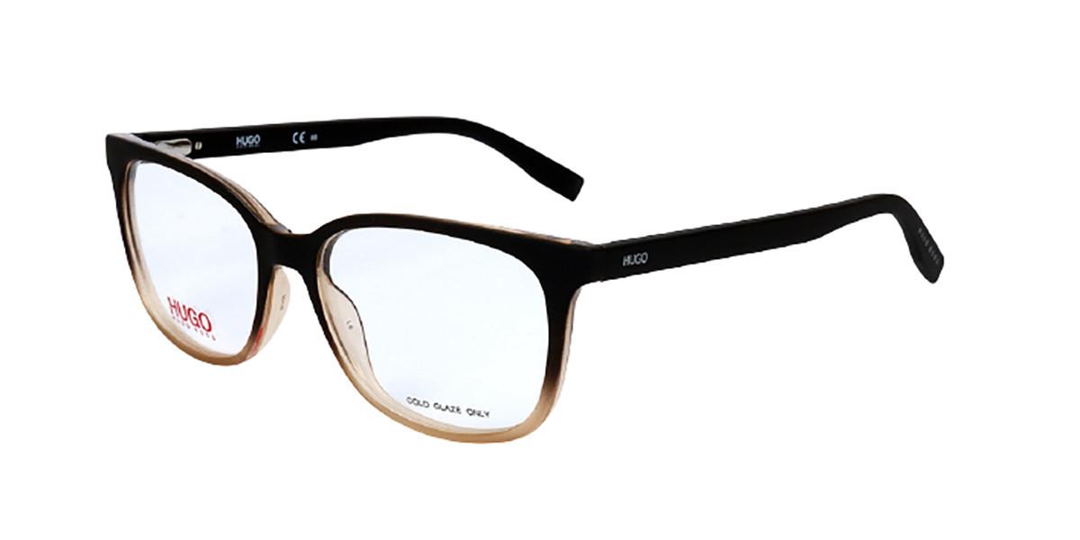 Hugo By Hugo Boss Hugo 0252 4IN Women's Glasses Brown Size 53 - Free Lenses - HSA/FSA Insurance - Blue Light Block Available