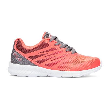 Fila Fantom 3 Little Kids Girls Running Shoes, 3 Medium, Pink
