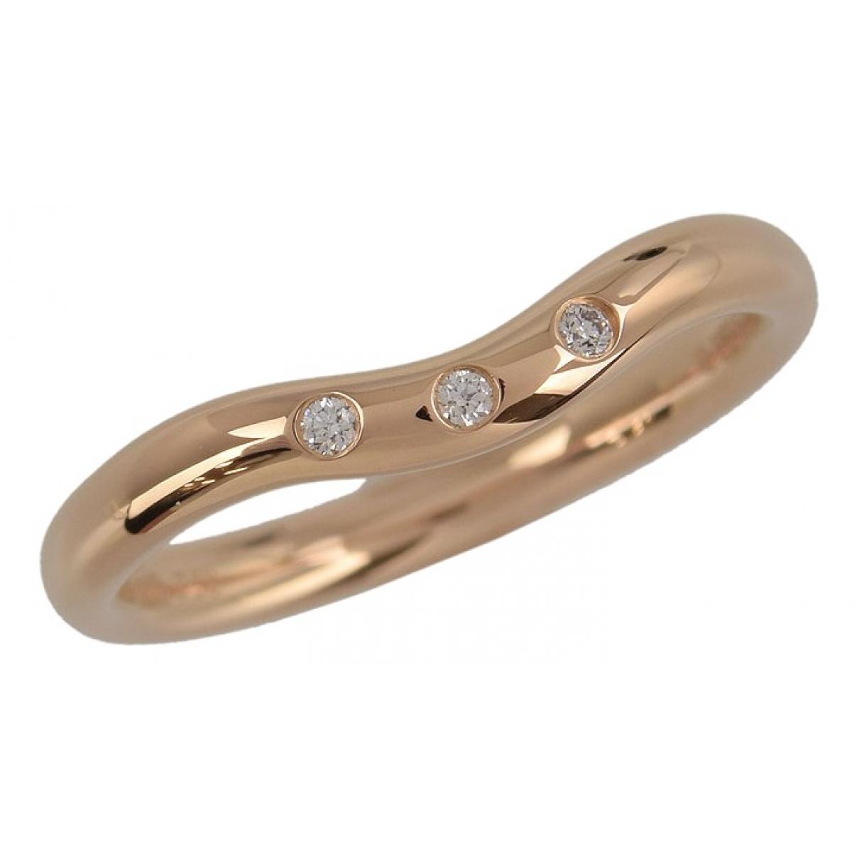Tiffany & Co - Bague   pour femme en or rose - dore