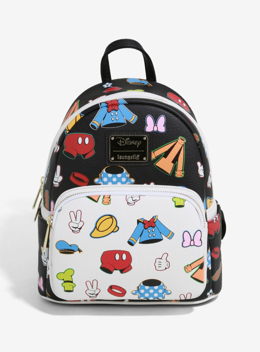 Loungefly Disney Mickey Mouse & Friends Clothes Mini Backpack