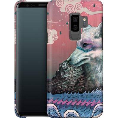 Samsung Galaxy S9 Plus Smartphone Huelle - Lone Wolf von Mat Miller