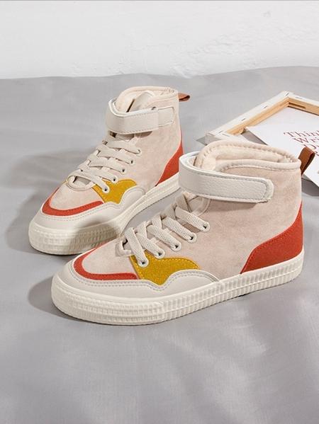 Yoins Color Block Sneakers