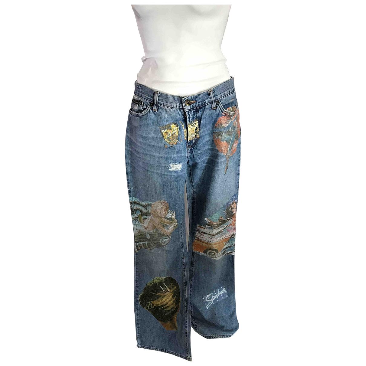 D&g \N Denim - Jeans Trousers for Women 44 IT