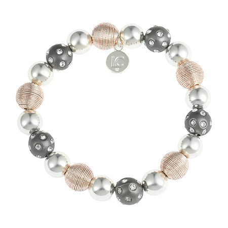 Liz Claiborne Round Stretch Bracelet, One Size , Multiple Colors