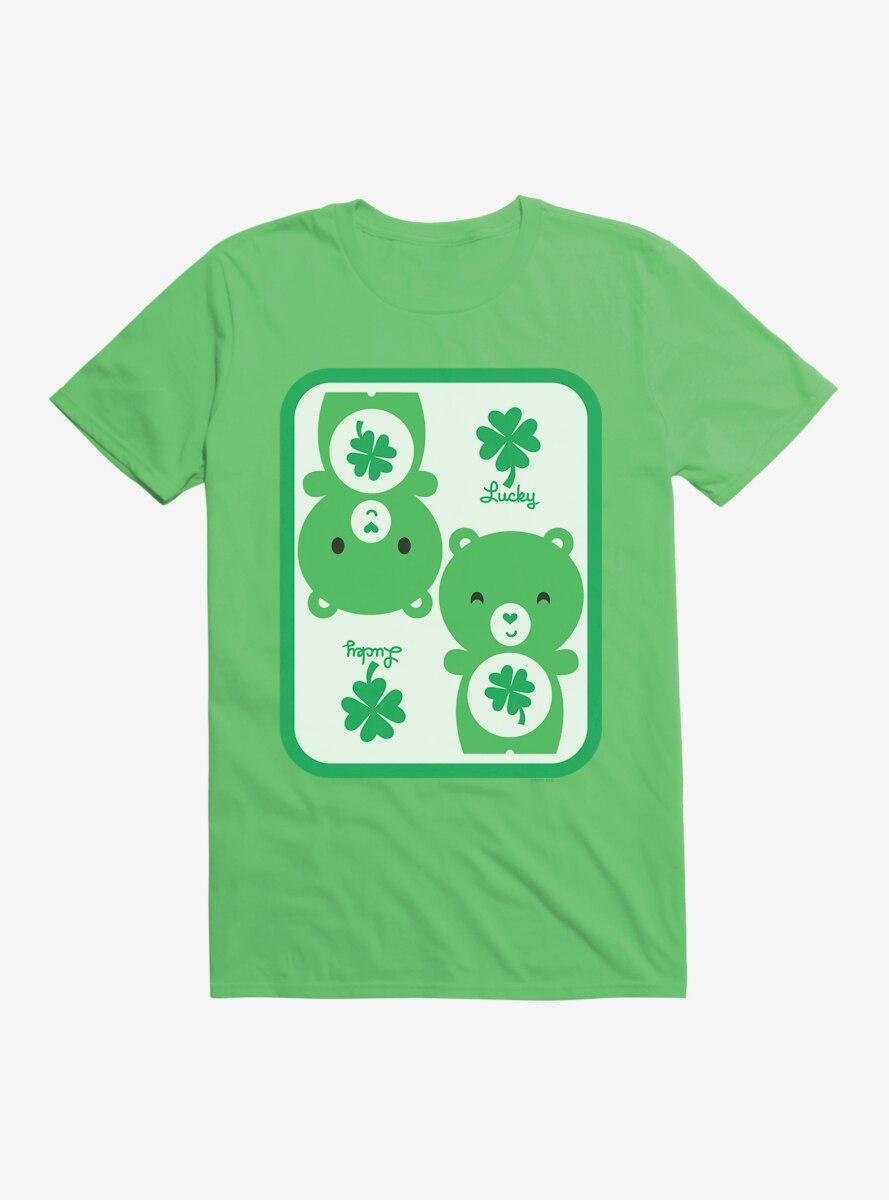 Care Bears Cartoon Good Luck Icon T-Shirt