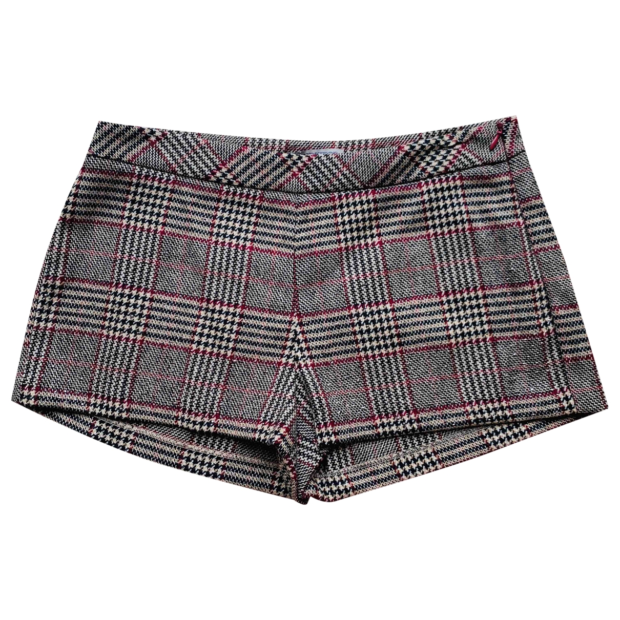 Ermanno Scervino \N Brown Wool Shorts for Kids 16 years - M FR