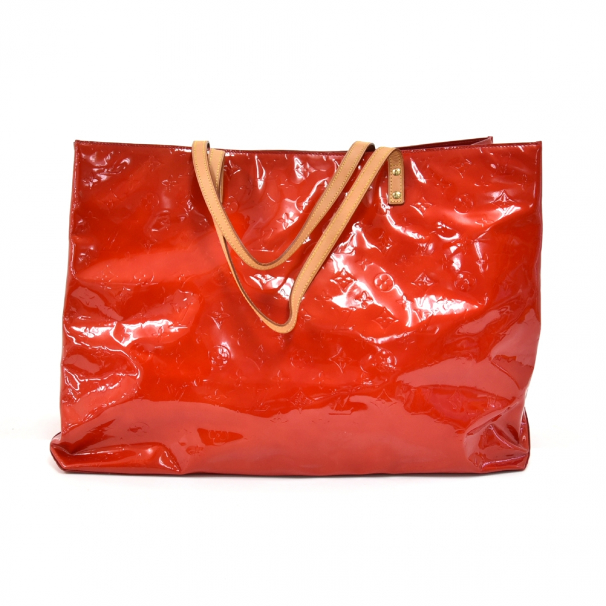 Louis Vuitton Reade Red Patent leather handbag for Women \N