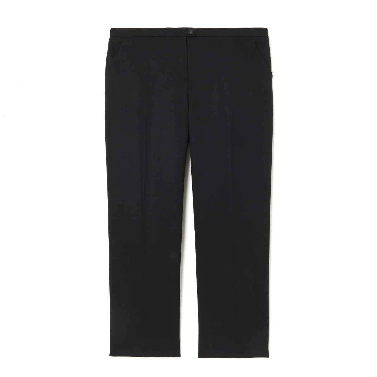 Givenchy \N Black Wool Trousers for Women 38 FR