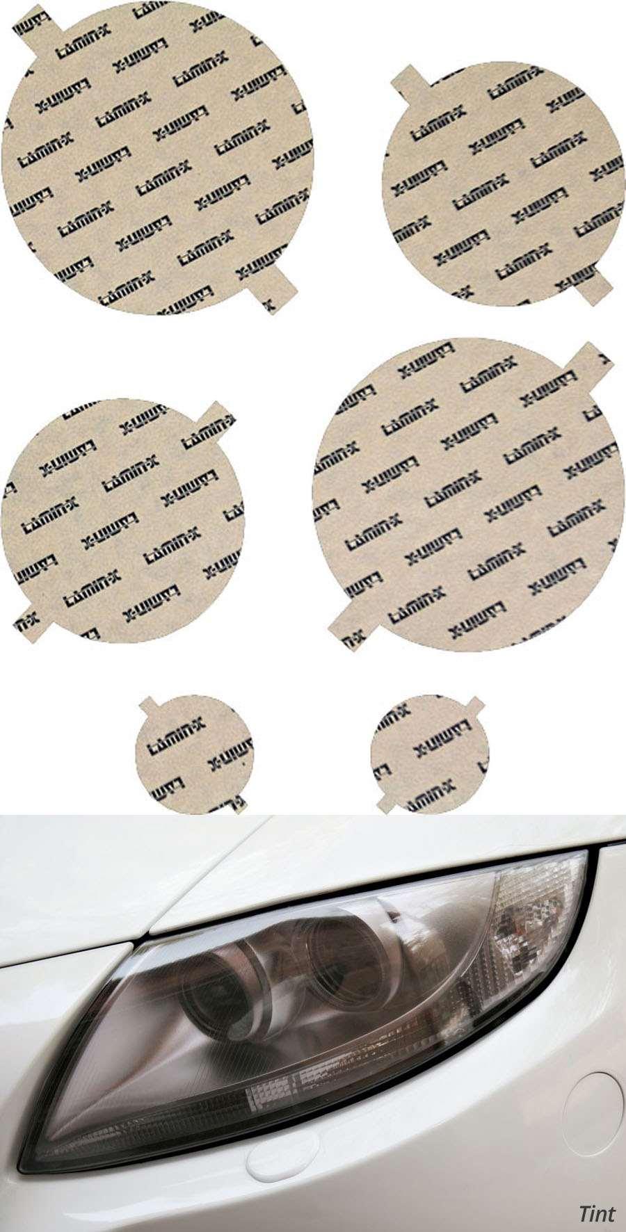 Jaguar S-Type/R 05-08 Tint Headlight Covers Lamin-X JG501T