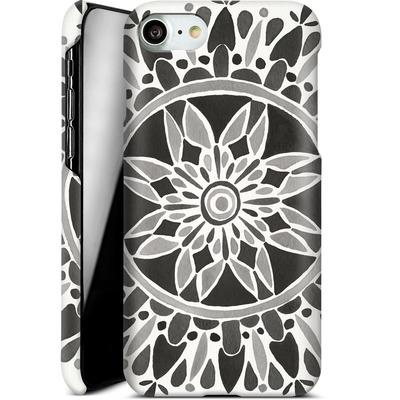 Apple iPhone 8 Smartphone Huelle - Mandala Black von Cat Coquillette